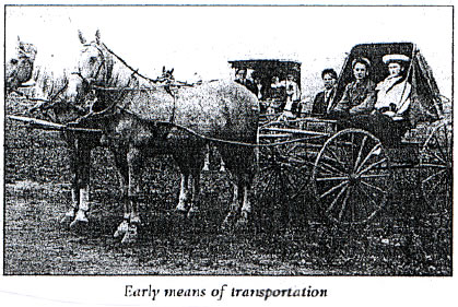 Early Means of Transportation