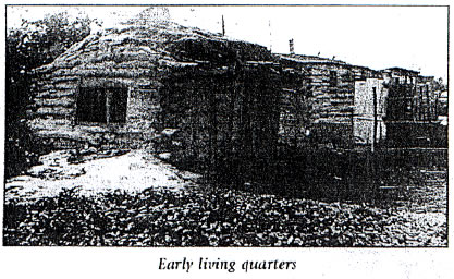 Early Living Quarters - Sod House